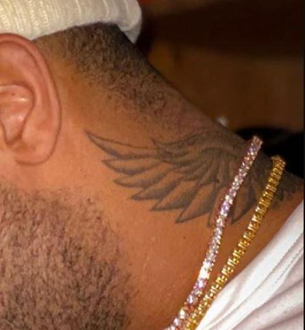 PJ Tucker wings tattoo