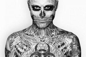 Rick Genest-Tattoos