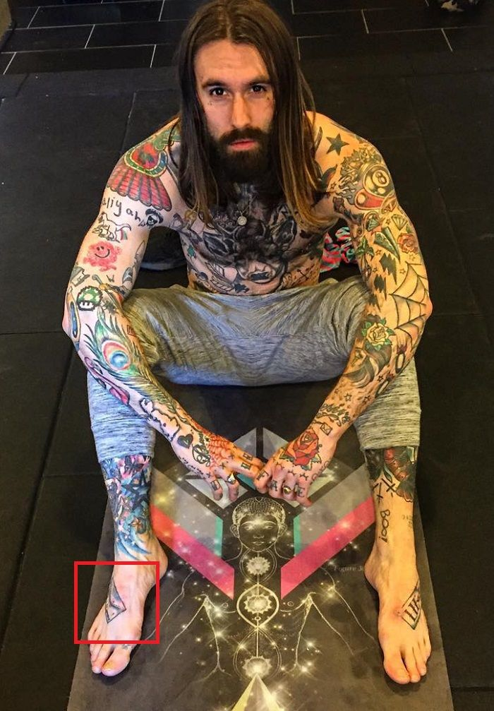 Ricki -Foot-Tattoo