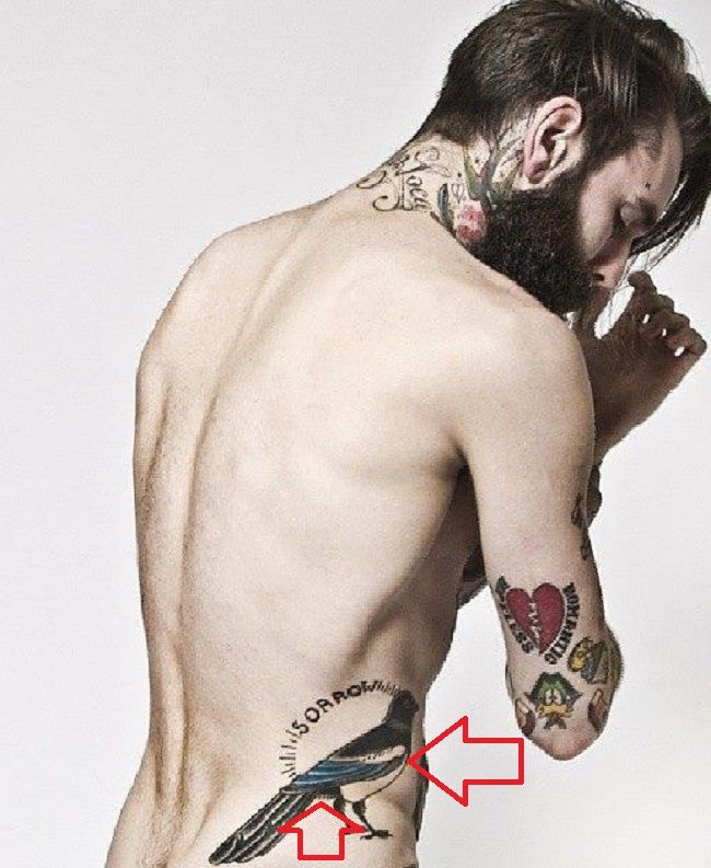 Ricki Hall-Bird-Tattoo