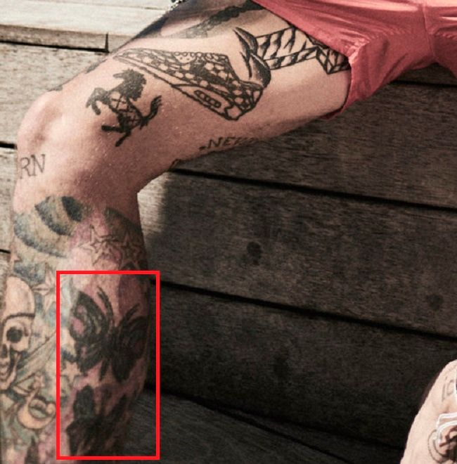 Ricki Hall-Butterfly-Tattoo