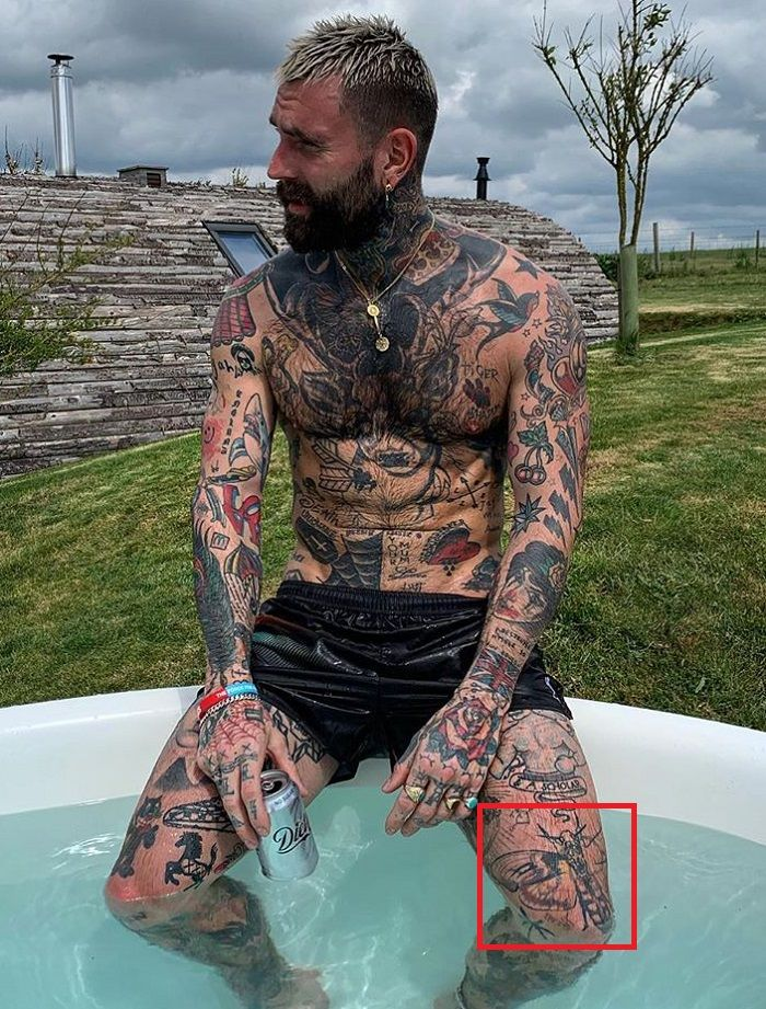 Ricki Hall-Deaths Head Hawkmoth-Tattoo