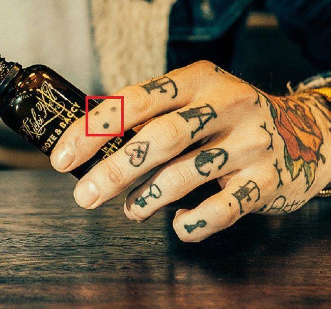 Ricki Hall-Index-Finger-Left-Hand