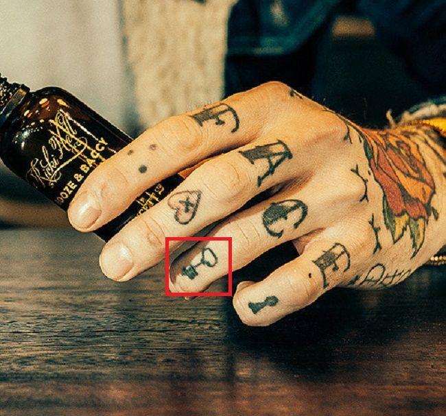 Ricki Hall-Key-Tattoo