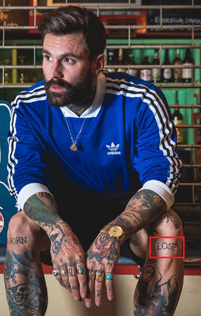 Ricki Hall-LOSER-Tattoo