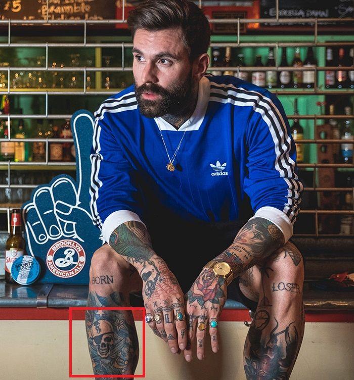 Ricki Hall-Pirate Skull-Tattoo