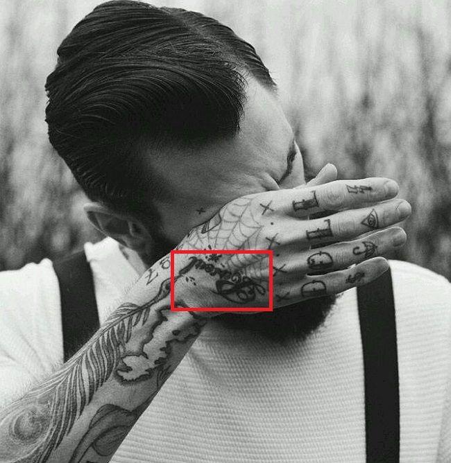 Ricki Hall-Right-Hand-Tattoo