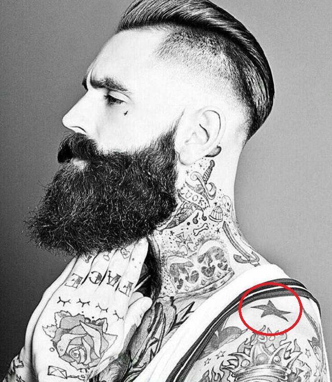 Ricki Hall-Star-Tattoo