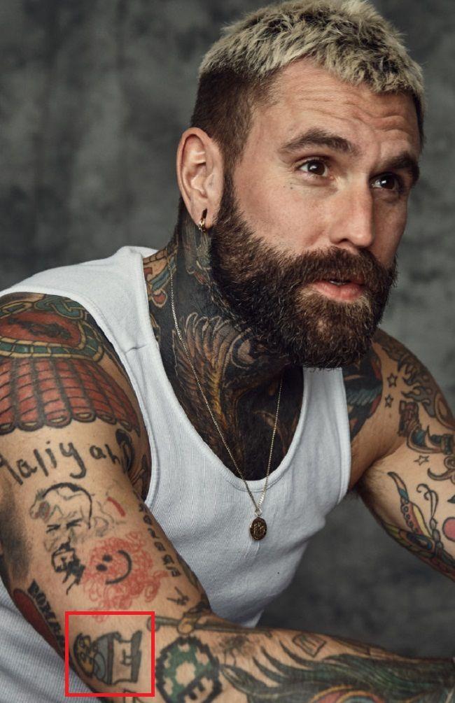 Ricki Hall-Tattoo