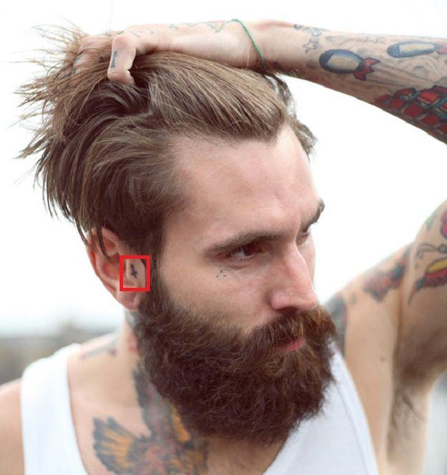 Ricki Hall-Tattoo-Ear