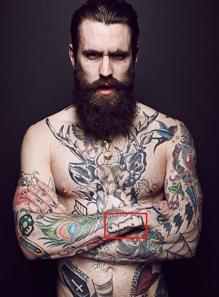 Ricki Hall-Tattoo-Forearm