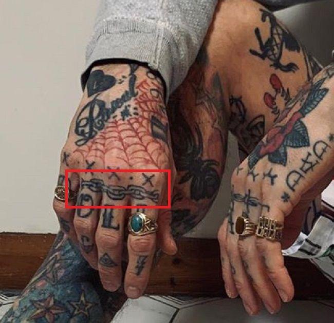 Ricki Hall-Tattoo-Hand