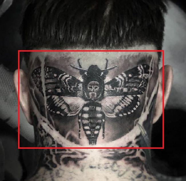 Ricki Hall-Tattoo-Head