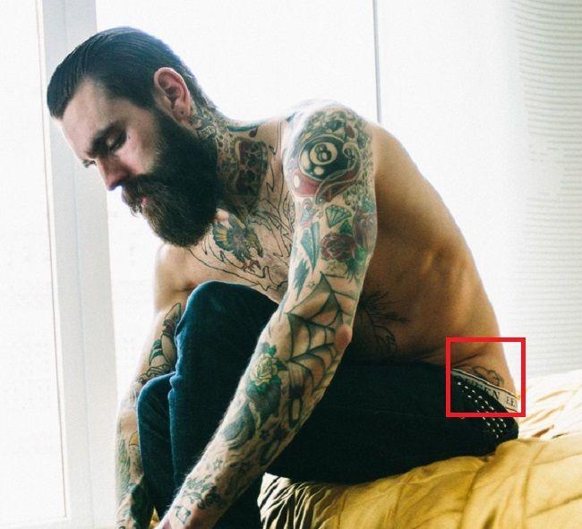 Ricki Hall-Tattoo-Left