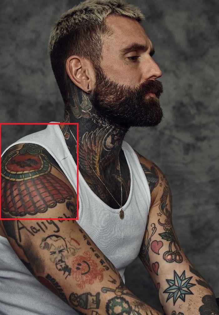 Ricki Hall-Tattoo-Shoulder