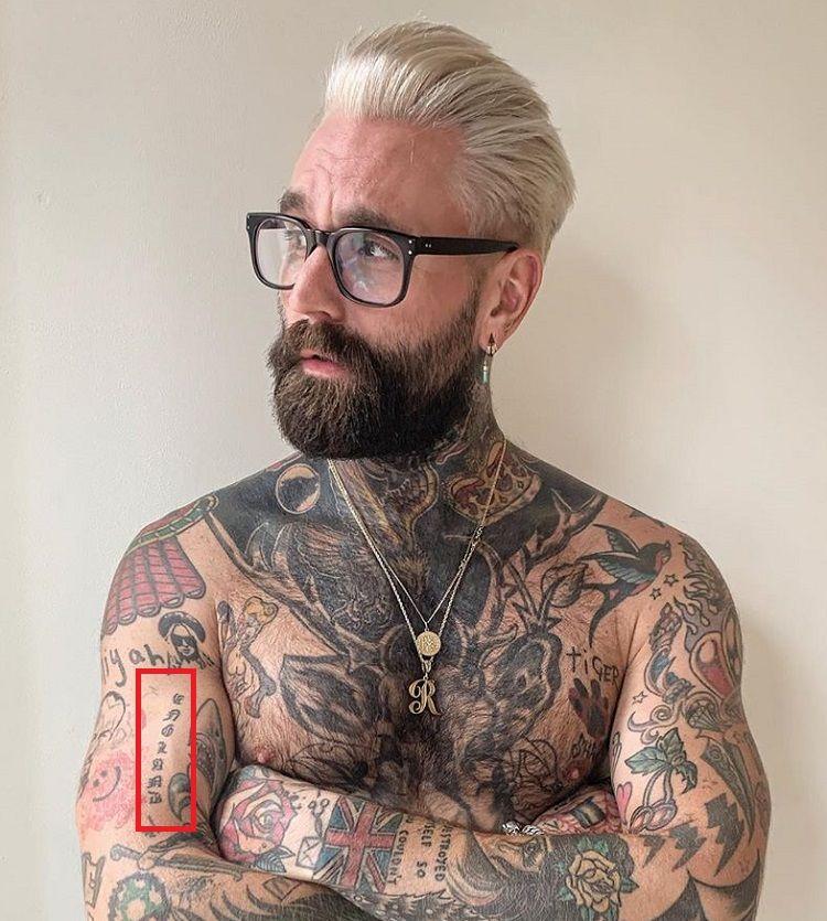 Ricki hall-Arm-Tattoo