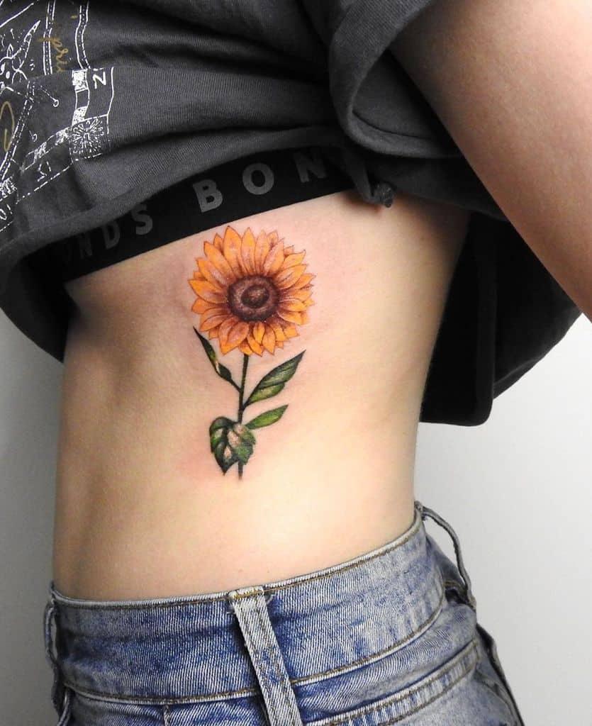 Sunflower Tattoo