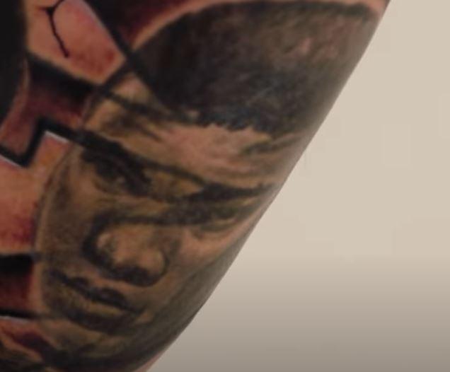 Tyrann Muhammad Ali Tattoo