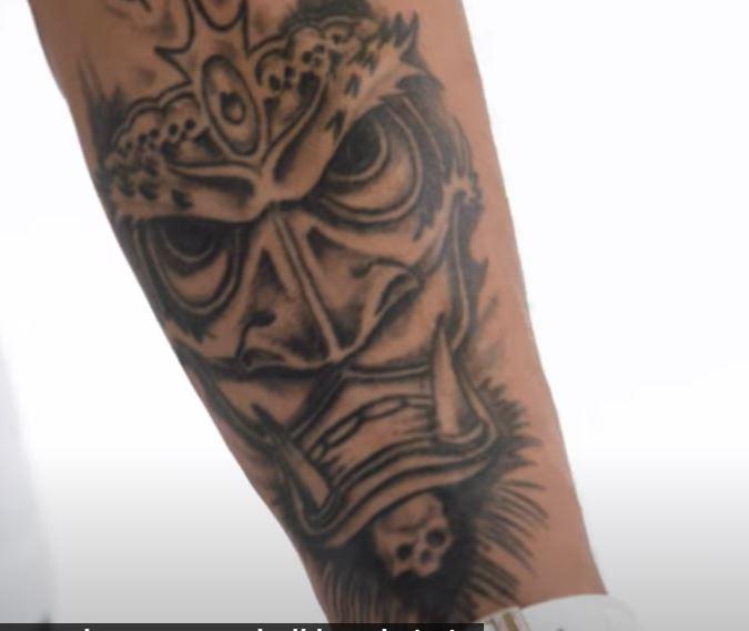 Tyrann skulls tattoo