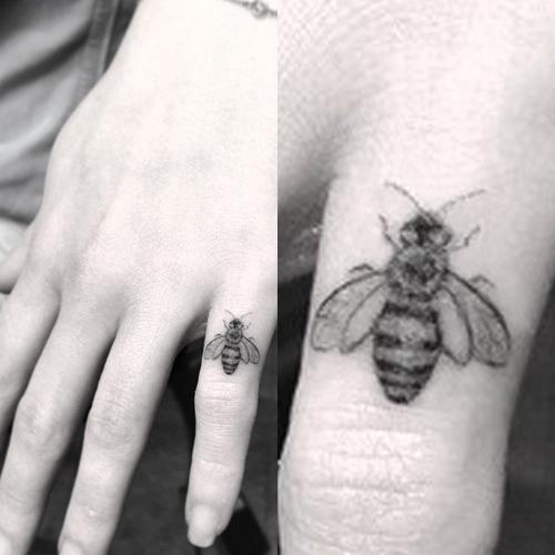 honey bee tattoo