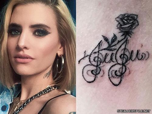 juliet simms juju neck tattoo