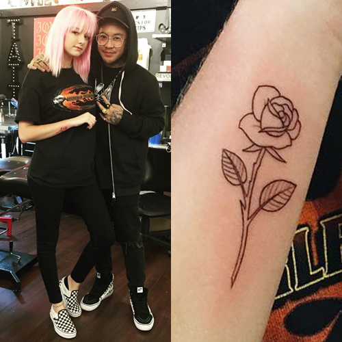 maddie bragg rose tattoo