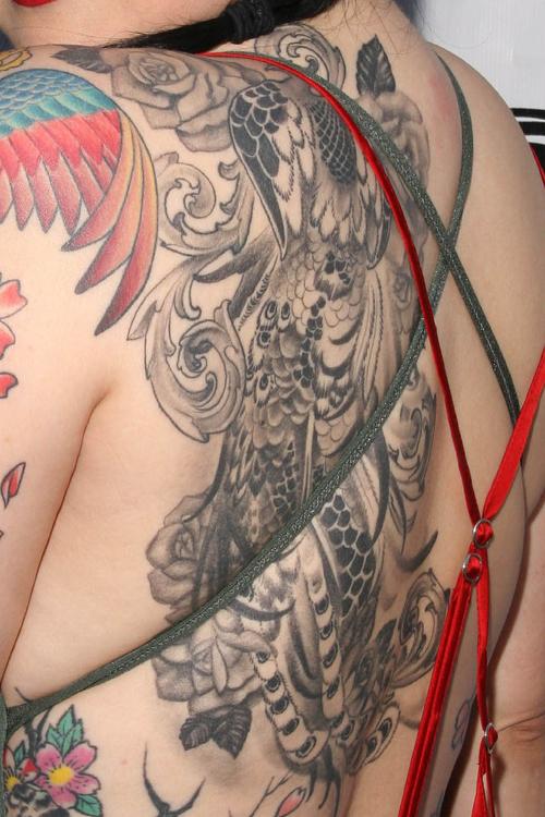 margaret cho left back tattoo