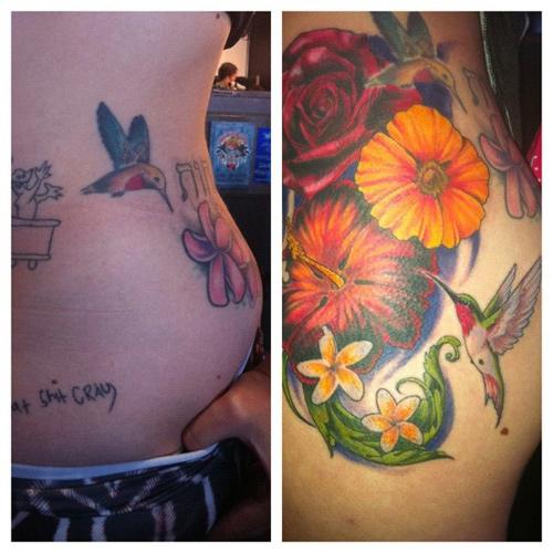 raychel diane weiner hip tattoo