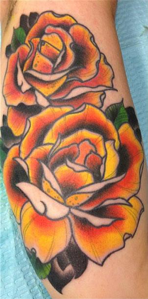 renee phoenix rose tattoo