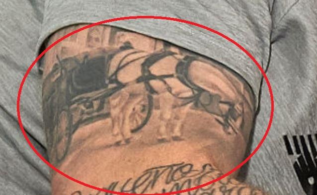 Alberto bicep tattoo