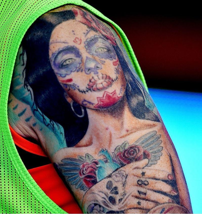 Alberto girl portrait Tattoo