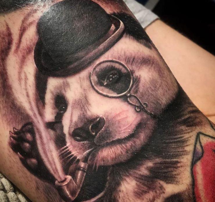 Alberto panda Tattoo.