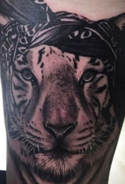 Alberto tiger Tattoo.