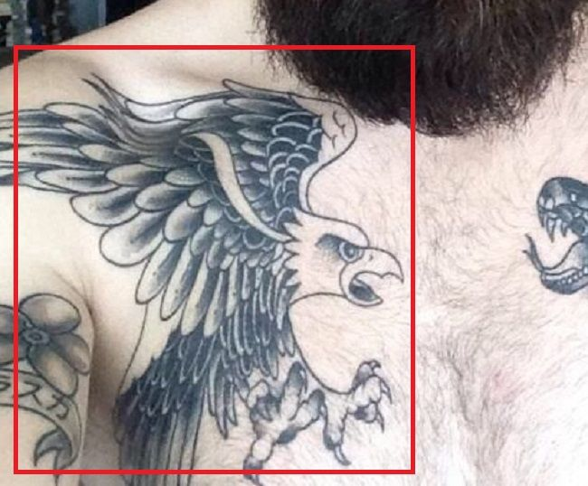 Chris John Millington-Eagle-Tattoo
