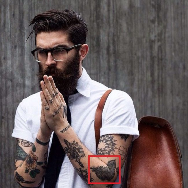 Chris John Millington-Feather-Tattoo