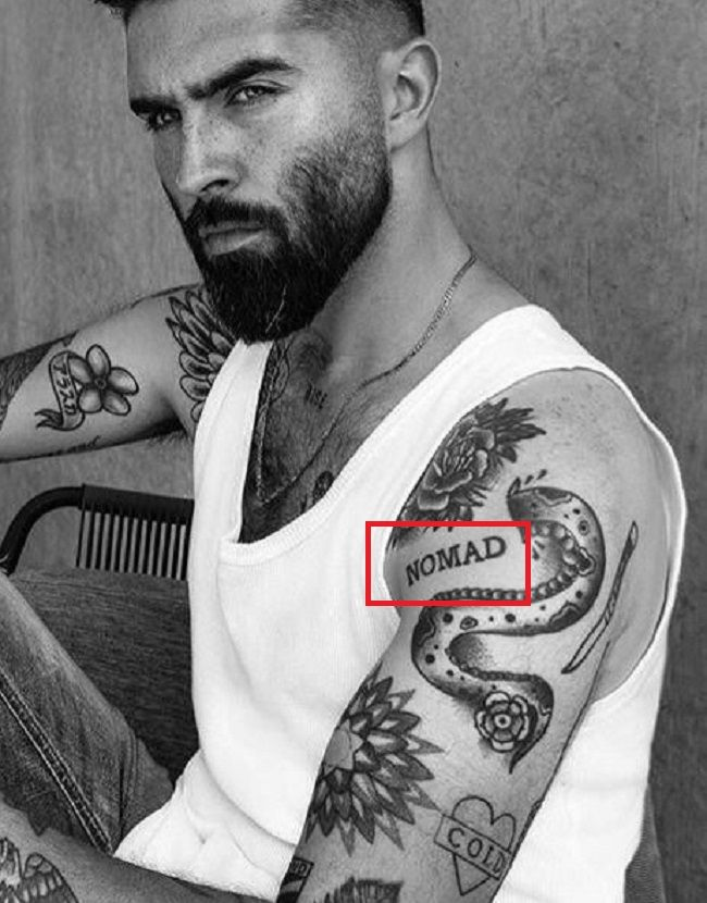 Chris John Millington-NOMAD-Tattoo