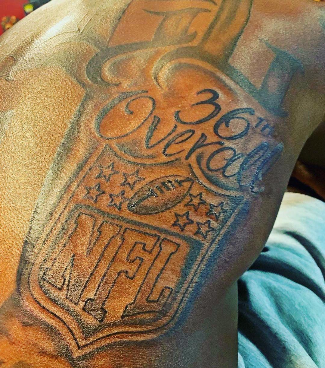Deebo NFL Tattoo
