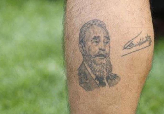 Diego Fidel Castro Tattoo