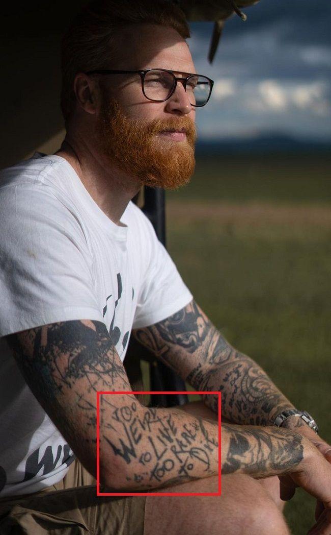 Gwilym Pugh-Arm-Tattoo