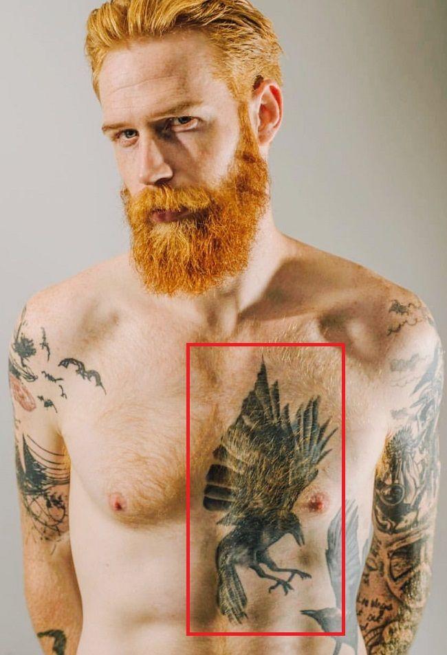Gwilym Pugh-Crow-Tattoo