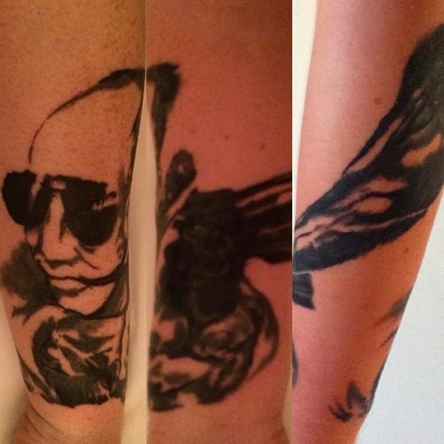 Gwilym Pugh-Hunter-Tattoo