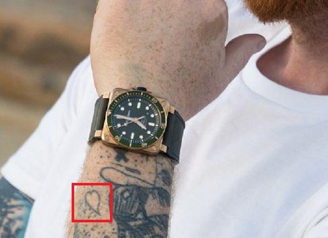 Gwilym Pugh-Tiny Heart-Tattoo