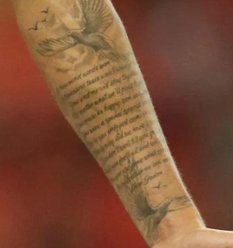 Jadon prayer tattoo