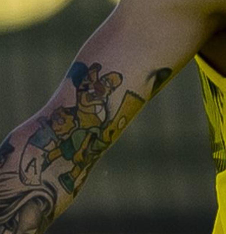 Jadon simpsons Tattoo
