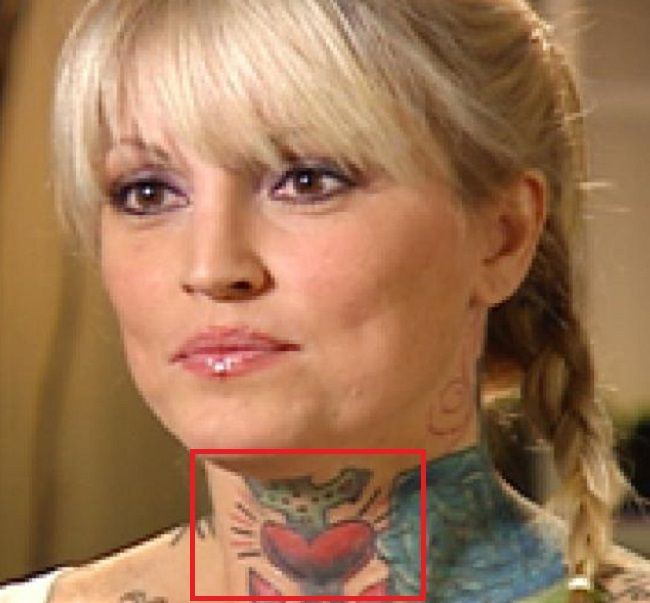 Janine-Lindermulder-Throat-Tattoo