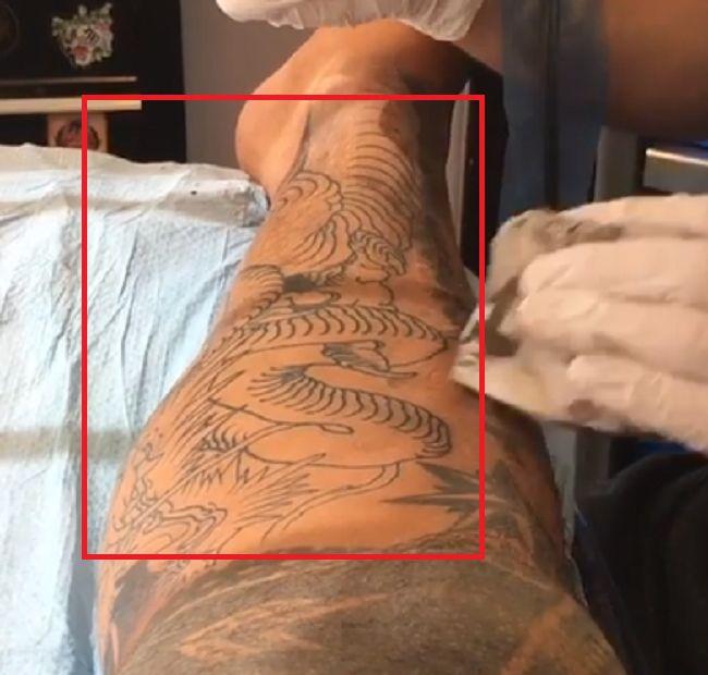 Jason Suttie-Leg-Left-Tattoo