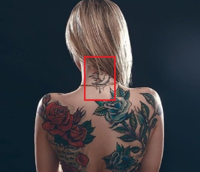 Kali Roses-Neck-Tattoo