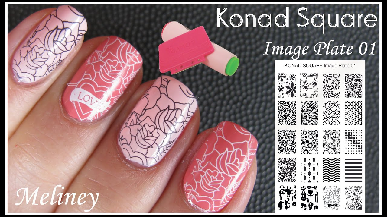 Konad Nail Art 123