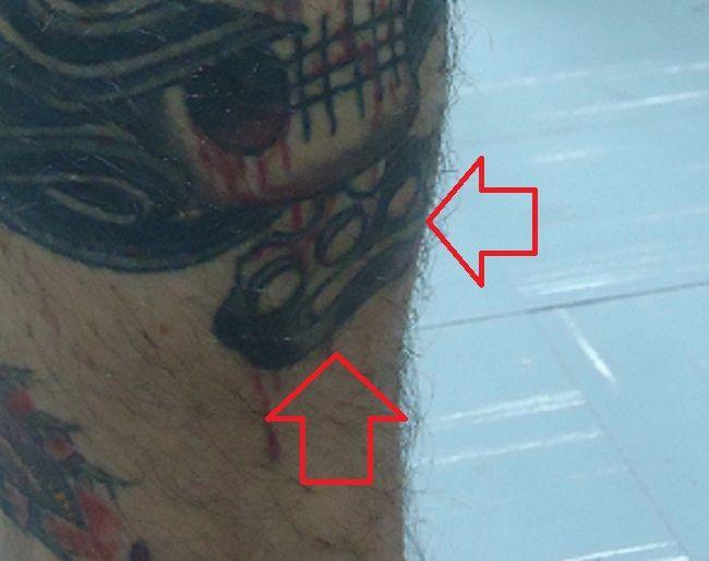 Mateus Verdelho-Brass Knuckle-Tattoo