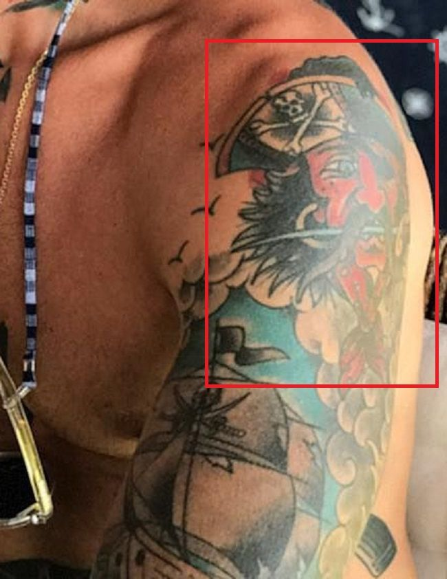 Mateus Verdelho-Shoulder-Tattoo